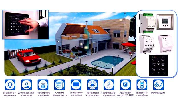 Управление Умный дом  Автоматизация дома - умный дом upravlenee umnym domom
