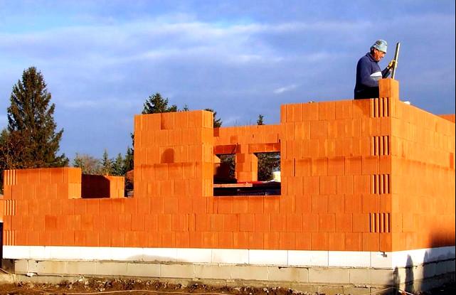 Строительство дома из керамического блока Дом из керамических блоков Дом из керамических блоков stroitelstvo doma iz keramicheskogo bloka