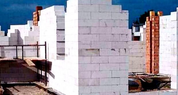 Стены дома